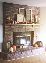 how to reface a brick fireplace with wood before after pictures refacing slate tile