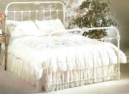 antique queen bed frame iron beds size awesome interior best wrought images on king sets wrou
