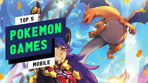 Top 5 Best Pokemon Games 2021 (Android & iOS) - YouTube
