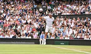 I thought Roger Federer's level of play ...