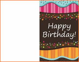 Birthday Cards Templates Word 12 Birthday Card Template Word Restaurant Receipt