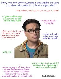 Big Bang Theory Quotes Awesome The Funniest Quotes From The Big Bang Theory