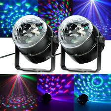 cheap lighting effects. 2xrgb led disco party magic crystal ball effect stage lighting dj club light cheap effects p