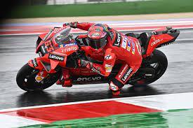 Francesco Bagnaia hofft: Yamaha hat im Regen Probleme