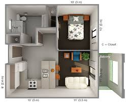 One Bedroom House Designs Inspiring Well One Bedroom House Designs With  Fine Ideas Popular