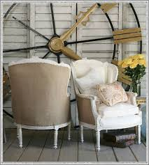 burlap furniture. burlap chairshmmm when i slipcover my living room chairs in white furniture a