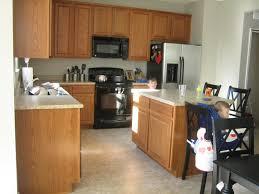 Oak To White Cabinets Kitchenquartz Countertops With Oak Cabinets Kitchen Island With
