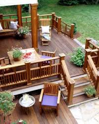 backyard raised patio ideas. Backyard Deck Design Ideas For Designs Inviting Raised Patio Best Pictures A