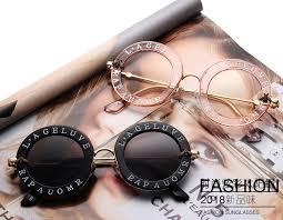 <b>Retro</b> Round Sunglasses Women 2019 <b>Luxury Brand</b> Designer Bee ...