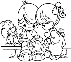 Small Picture Valentine Pages To Color Cecilymae