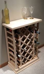 <b>28</b> Bottle Lattice Style <b>Wine Rack</b> | Винный шкаф, Домашнее вино ...