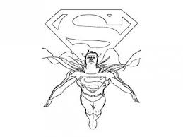 Small Picture Superman Coloring Pages For Kids Printable Coloring Home