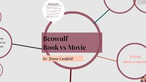Book Vs Movie Venn Diagram Beowulf Book Vs Movie By Jenna Canfield On Prezi
