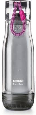 "<b>Бутылка</b> для воды Zoku ""<b>Active</b>"", цвет: серый, фиолетовый, 480 <b>мл</b>"