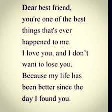 Losing A Best Friend Quotes Impressive Dear Best Friend Quotes Pinterest