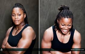 Aggressive lesbians with muscles