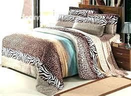 animal print duvet cover king size fascinating leopard