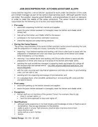 Kitchen Manager Job Description | | Revive210618.com