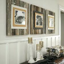 marvellous design distressed wood wall art home decor reclaimed rustic and metal painted