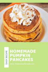 pumpkin pancakes recipe fluffy every
