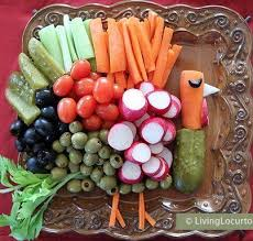 Decorative Relish Tray For Thanksgiving I love this because my family has a tradition of making a veggie 14