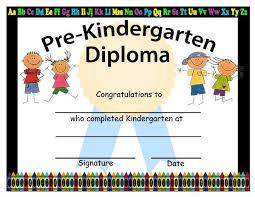 Prek Diploma Pre K Diplomas Barca Fontanacountryinn Com