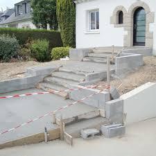 Fabulous Savoir Couler Du Bton With Construire Terrasse Beton Contre Maison
