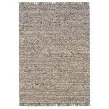 linon home decor verginia berber dark natural 8 ft x 10 ft indoor area rug rug ve22581 the home depot