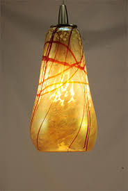 ... Gorgeous Table Lamp Decoration With Hand Blown Glass Lamp Shade :  Amusing Lamp Decoration With Pendant ...