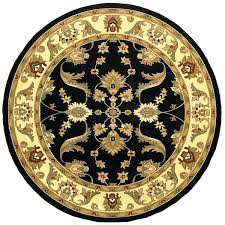 home black cream oriental area rug 4 round 4 free pertaining to round oriental rugs remodel round oriental rugs