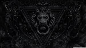 Black Lion Hd Wallpaper 39grmuxjpg Picseriocom
