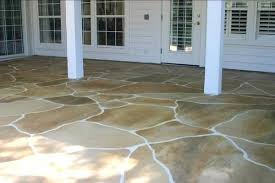 Stained concrete patio Beige Stained Concrete Patio Ideas Stained Concrete Can Be Even Made To Look Like Flagstone Acid Stained Concrete Patio Pictures 1008groveinfo Stained Concrete Patio Ideas Stained Concrete Can Be Even Made To