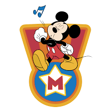 Mickey Mouse Vector Logo - Download Free SVG Icon