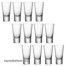 bormioli rocco ypsilon toughened 70ml double shot glasses vodka shooter drinking glass b01hrwf238