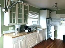 ikea solid wood countertop solid wood wood kitchen kitchen kitchen solid wood counter top glass door cabs w