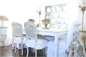 dining room chair slipcovers shabby chic dining room chair slipcovers shabby chic new sure fit cotton