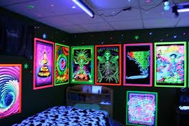Awesome Bedroom Ideas Black Light Room Ideas Rvc Designs Black Light Room Ideas