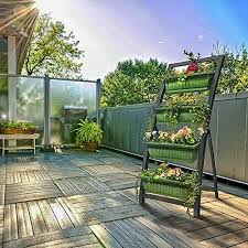 details about 6ft raised garden bed vertical garden freestanding elevated planter with 4 boxes