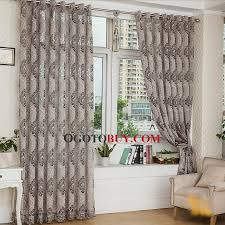 Gray and beige curtains Blue Loading Zoom Gray Color Good Quality Two Panels Large Curtains Ogotobuycom Gray Color Good Quality Two Panels Large Curtains Buy Gray Jacquard
