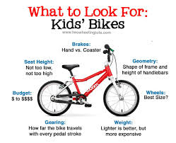 Bike Wheel Size Chart Age Kids Bikes Your Guide To Choosing The Best Bike For Your