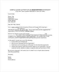 Trainee Cover Letters Sample Cover Letter For Internship 9 Examples In Pdf Word