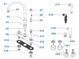 delta faucet repair parts diagram models 2173 2174 2176 2474 2476