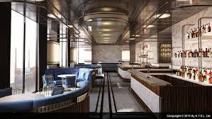 Fine dining restaurant & bar designed by K.Y.S.L. Ltd. Art deco #industrial  #dining
