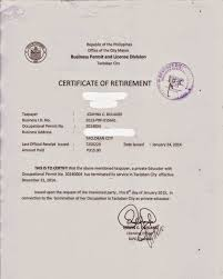Pin Tax Clearance Certificate On Pinterest Police Clearance Letter