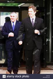 Ulster Talks/Blair & Ahern Stock Photo - Alamy