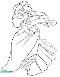 The Little Mermaid Coloring Pages 4 | Disney Coloring Book