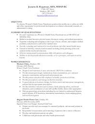 Advanced Practice Nurse Sample Resume Simple Jeanette Hauptman WHNP Resume