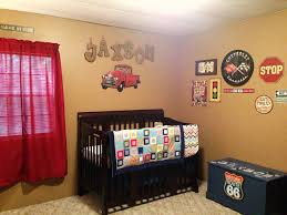 Race Car Room Decor Jaxsons Vintage Car Themed Nursery Future Kids Pinterest