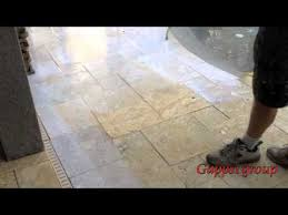 how to clean and seal travertine granite and natural stone pavers