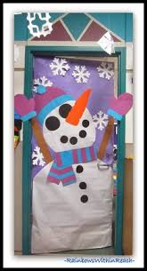 decorate office door for christmas. Perfect Decorate Snowman Decorated Classroom Door Via RainbowsWithinReach Inside Decorate Office For Christmas E